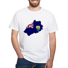 Saint Helena Flag Map Shirt