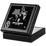 Famous Quote from JFK Keepsake Box