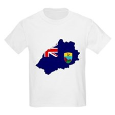 Saint Helena Flag Map T-Shirt