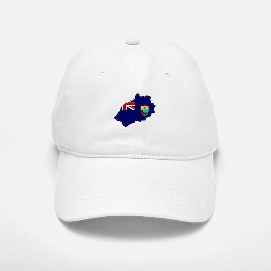 Saint Helena Flag Map Baseball Baseball Cap