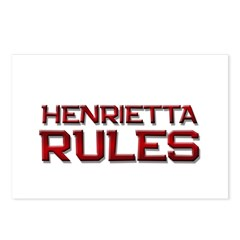 henrietta rules Postcards (Package of 8)