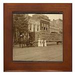 NWP 1914 Suffrage Banner Framed Tile