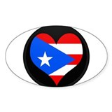 Puerto rico flag sticker Stickers