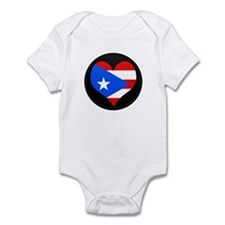 I love PUERTO RICO Flag Infant Bodysuit
