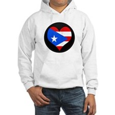 I love PUERTO RICO Flag Hoodie