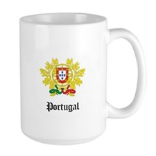Portuguese Coat of Arms Seal Mug