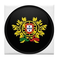 Coat of Arms of Portugal Tile Coaster