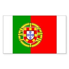 Portuguese Rectangle Decal