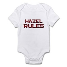 hazel rules Infant Bodysuit