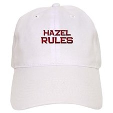 hazel rules Baseball Cap
