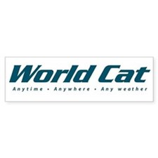 World Cat Bumper Bumper Sticker