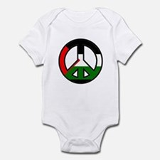 Cool Peace and anti war Infant Bodysuit