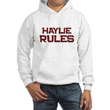 haylie rules Jumper Hoody