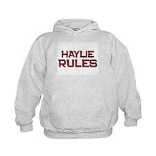 haylie rules Hoody