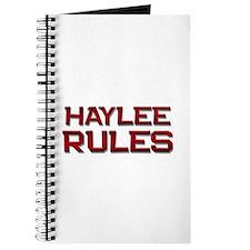 haylee rules Journal
