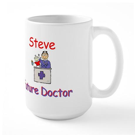 Steve - Future Doctor Large Mug