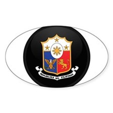 Coat of Arms of philippines Oval Decal