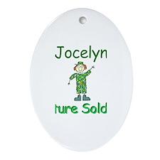 Jocelyn - Future Soldier Oval Ornament