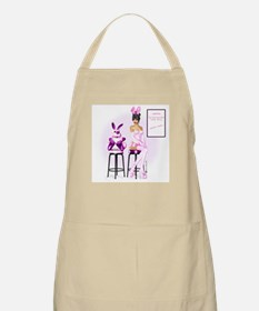 Easter Bunny Casting BBQ Apron