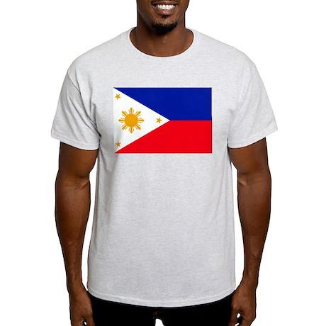 philippines Flag Light T-Shirt