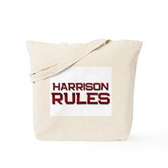 harrison rules Tote Bag