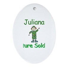 Juliana - Future Soldier Oval Ornament