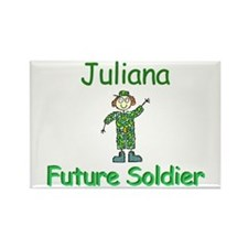 Juliana - Future Soldier Rectangle Magnet
