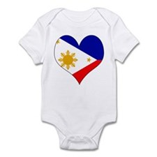 I Love philippines Infant Bodysuit