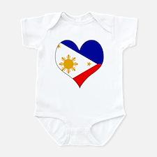 I Love philippines Infant Bodysuit