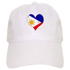 I Love philippines Cap