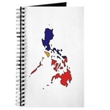 philippines Flag Map Journal