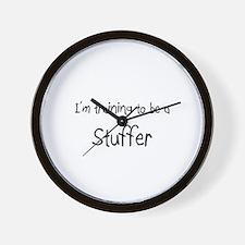I'm training to be a Stuffer Wall Clock