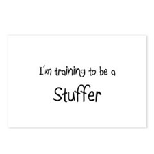 I'm training to be a Stuffer Postcards (Package of