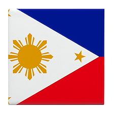 Filipina Tile Coaster