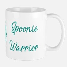 Spoonie Warrior Logo Wide Mugs