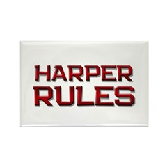 harper rules Rectangle Magnet