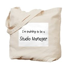 I'm training to be a Studio Manager Tote Bag