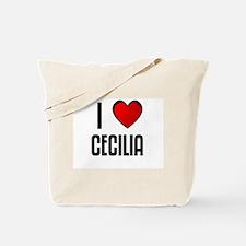 I LOVE CECILIA Tote Bag