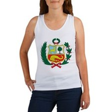 peru Coat of Arms Women's Tank Top