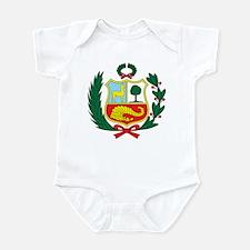 peru Coat of Arms Infant Bodysuit