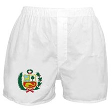 peru Coat of Arms Boxer Shorts