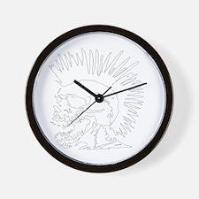 Rebellious Wall Clock