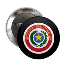 "Coat of Arms of Paraguay 2.25"" Button (10 pack)"