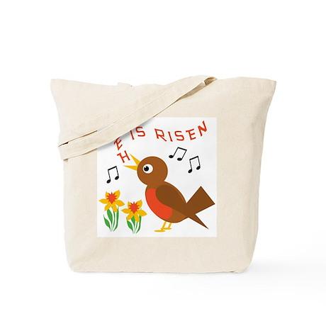 HE IS RISEN ROBIN Tote Bag