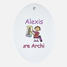 Alexis - Future Architect Oval Ornament