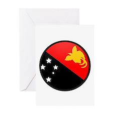 Papua New Guinea Greeting Card