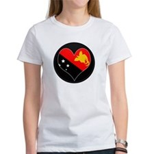 I love Papua New Guinea Flag Tee
