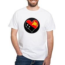 I love Papua New Guinea Flag Shirt