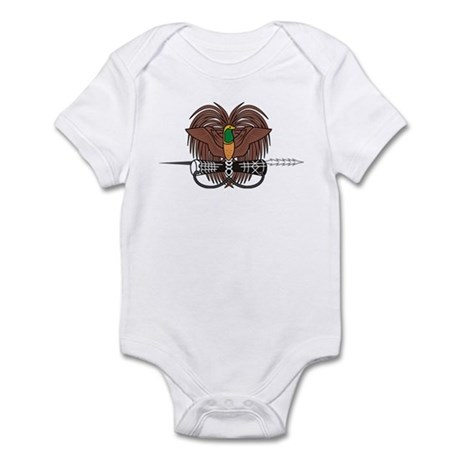 Papua New Guinea Coat of Arms Infant Bodysuit
