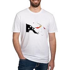 Papua New Guinea Flag Map Shirt
